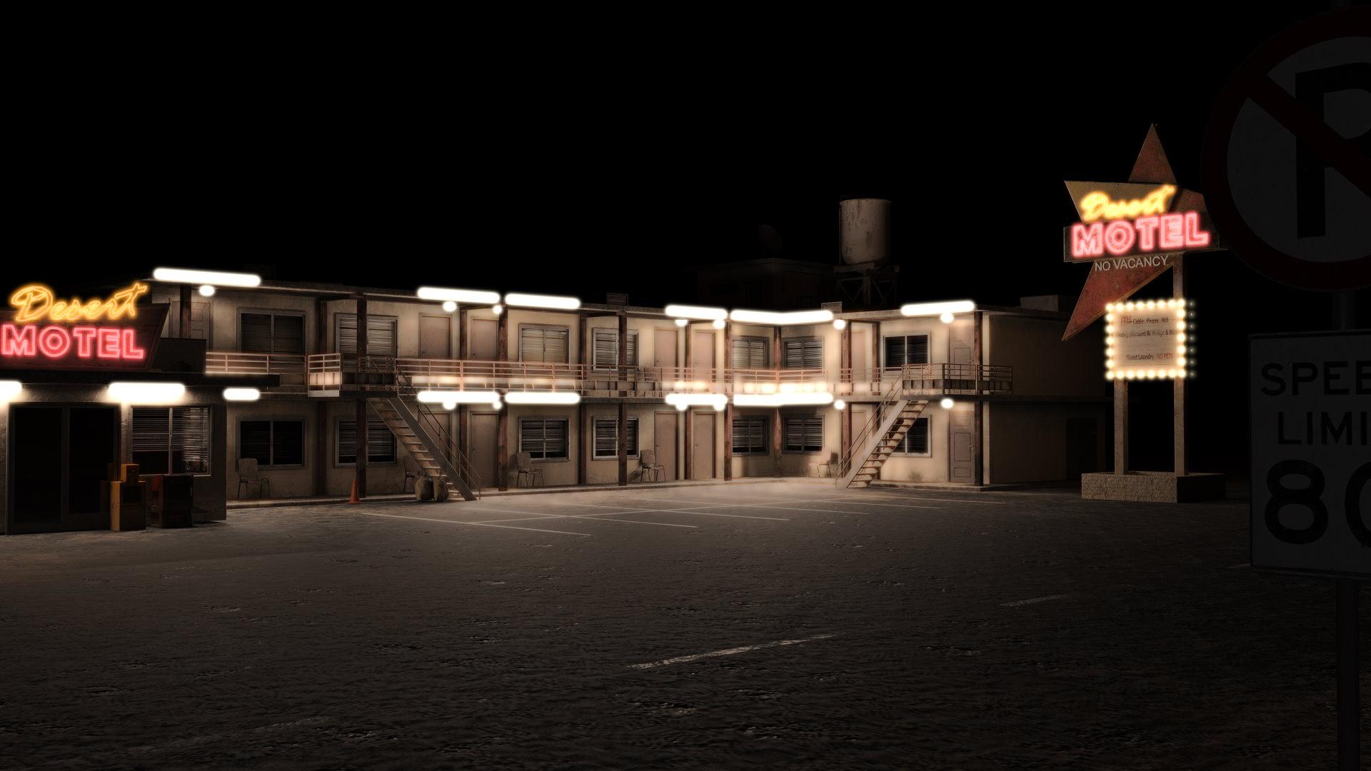 676988 motel night